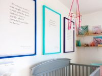 DIY Picture Frames For Large Canvas Art