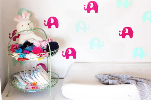 diaper-organization-on-changing-table-in-nursery