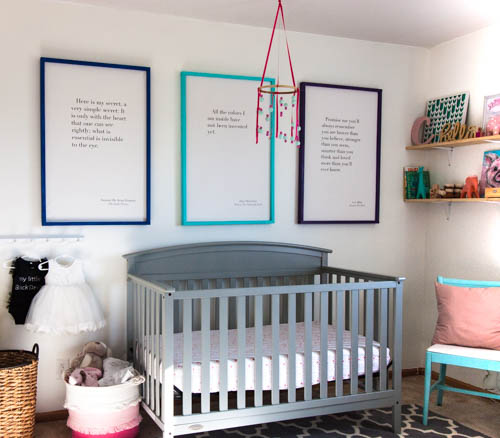 colorful-nursery-with-diy-picture-frames