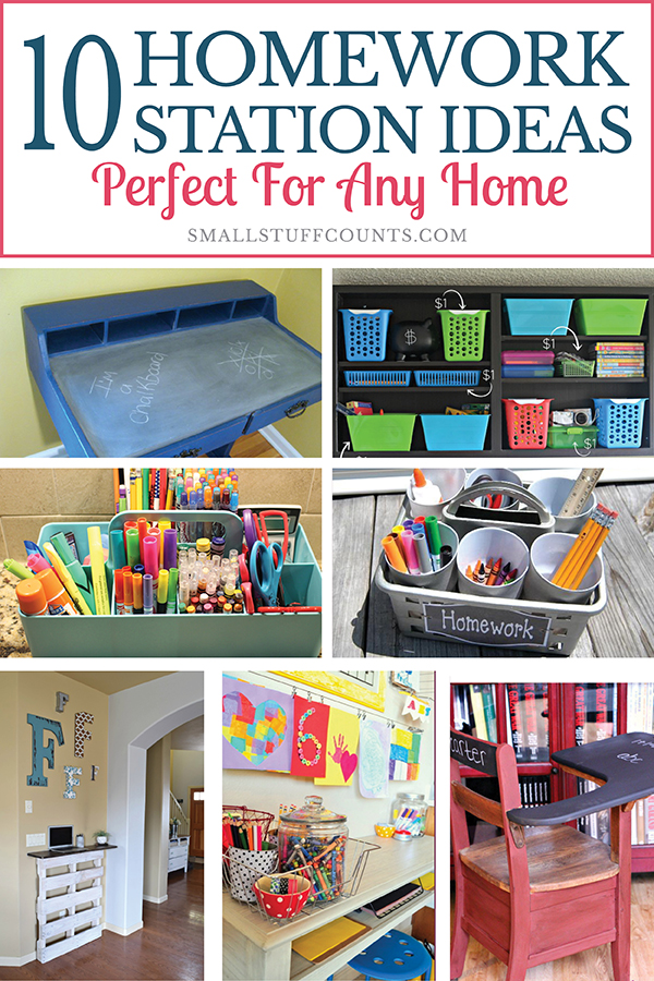 DIY homework station ideas