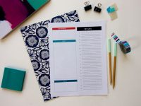 Get Your To-Do List Under Control + A Free Daily To-Do List Printable