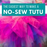 image of pink and purple tutu with text overlay