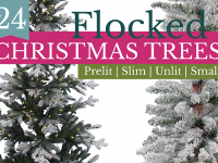 24 Gorgeous, Affordable Flocked Christmas Trees