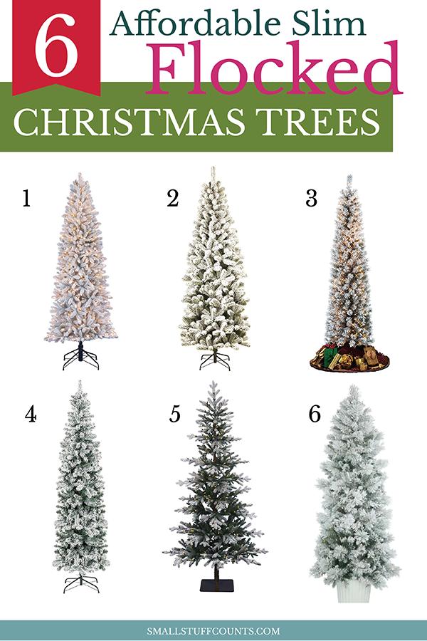slim-flocked-christmas-trees
