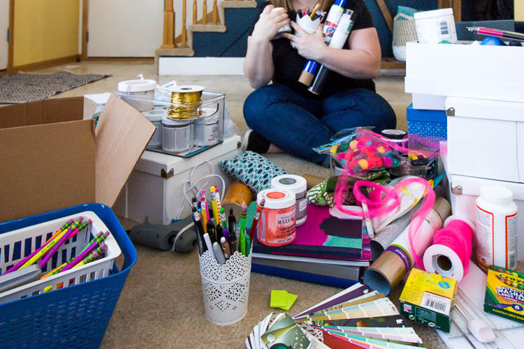 craft-supplies-all-over-the-floor