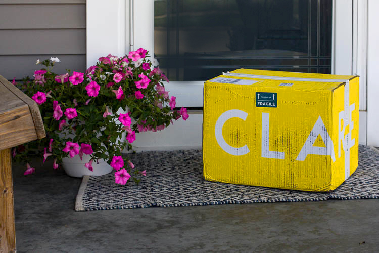 clare-paint-yellow-box-on-doorstep