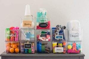12-clear-storage-bins-with-label-examples-on-each