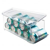 Soda Can Organizer With Lid