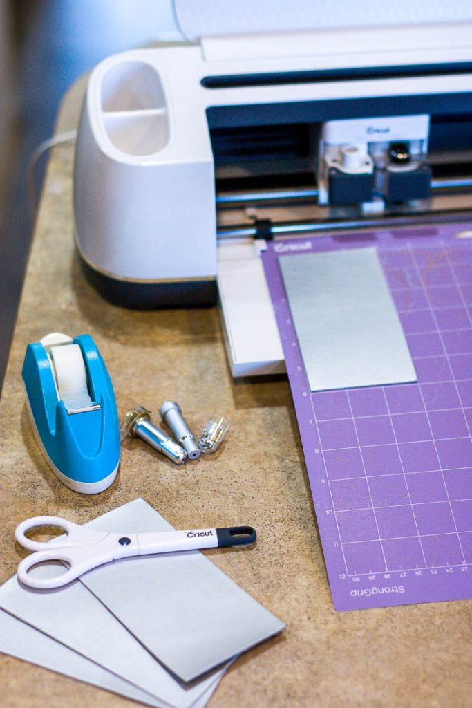 leather-being-cut-with-cricut-maker