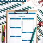 christmas-grocery-shopping-list-printable-on-clipboard