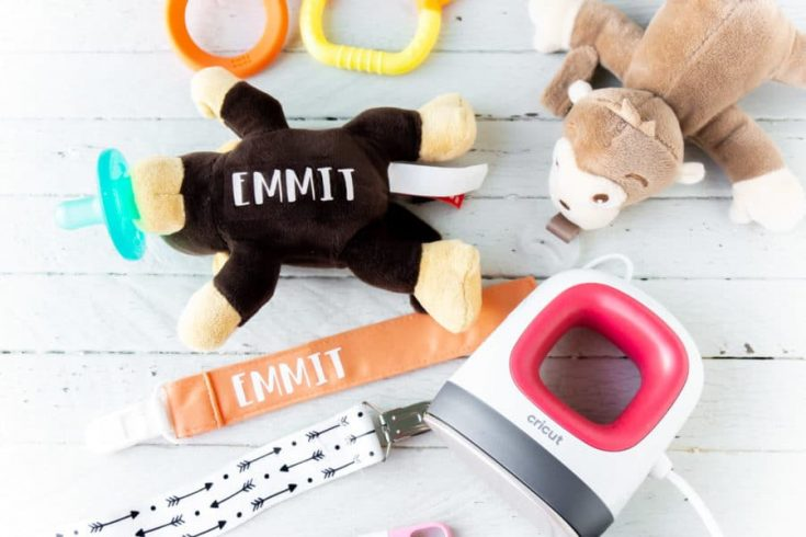 Personalized Baby Items with Cricut EasyPress Mini