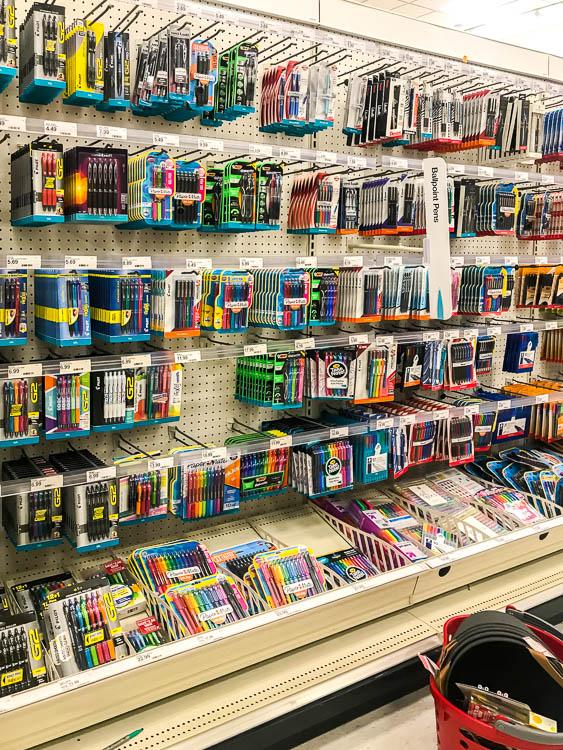 pen-aisle-at-target