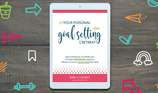 your-personal-goal-setting-retreat-guide-on-ipad