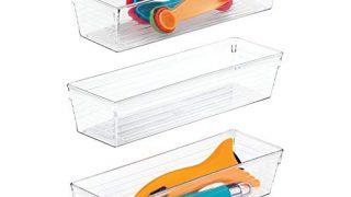 iDesign Plastic Drawer Organizers