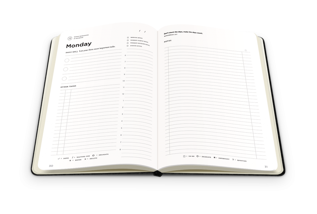 full-focus-planner-daily-pages