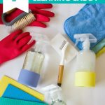 colorful-cleaning-supplies-and-glass-spray-bottles-flatlay