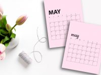 Free May 2020 Calendar Printables | Sunday And Monday Start
