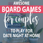 graphic of awesome board games for couples