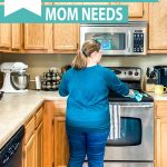graphic of household routines every mom needs
