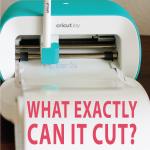 graphic: what can a cricut joy cut?