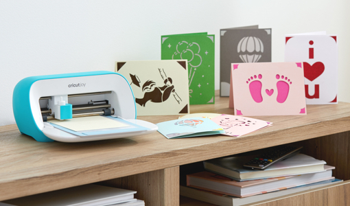 cricut joy with greeting cards