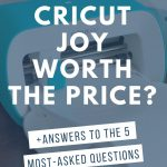 text overlay: is cricut joy worth the price?