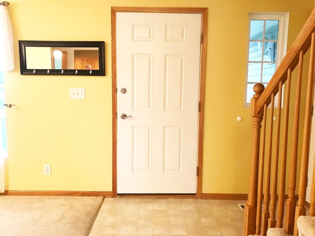 before picture of front door
