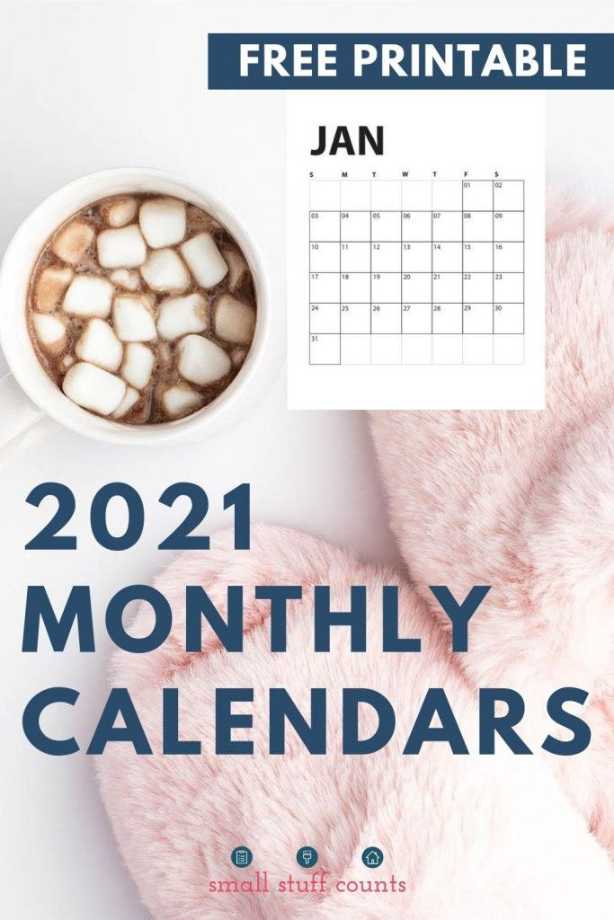 image of hot chocolate and january calendar with text overlay