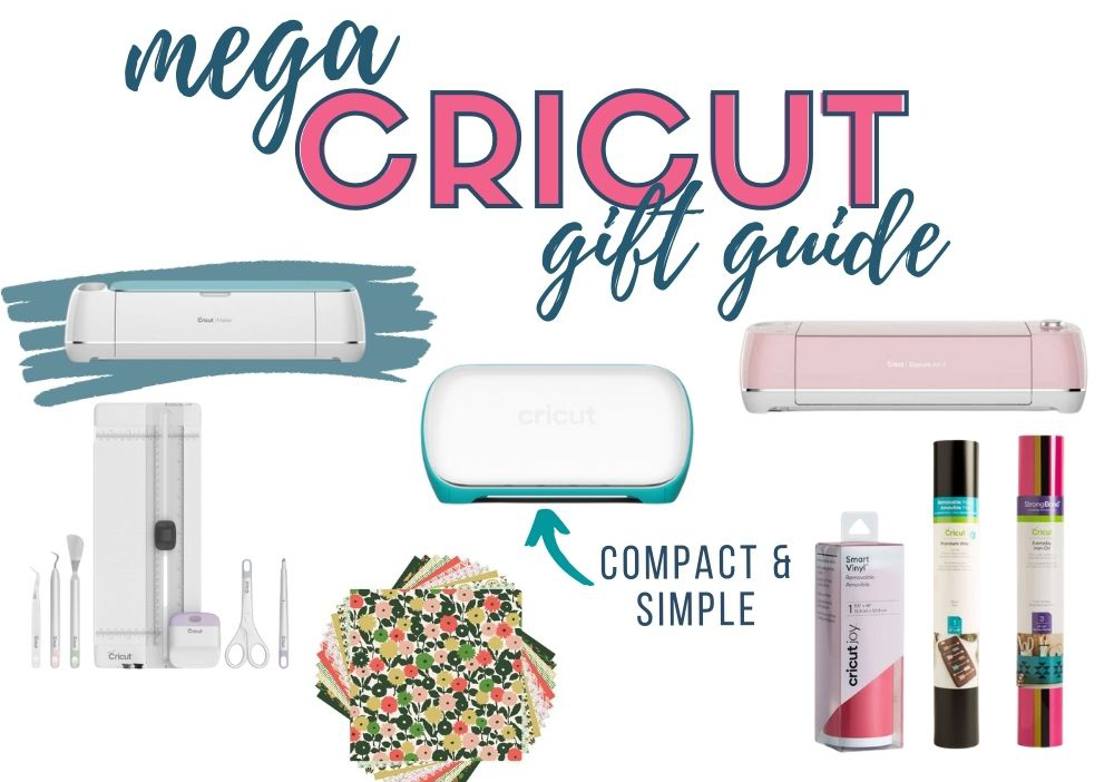 collage of cricut gift ideas
