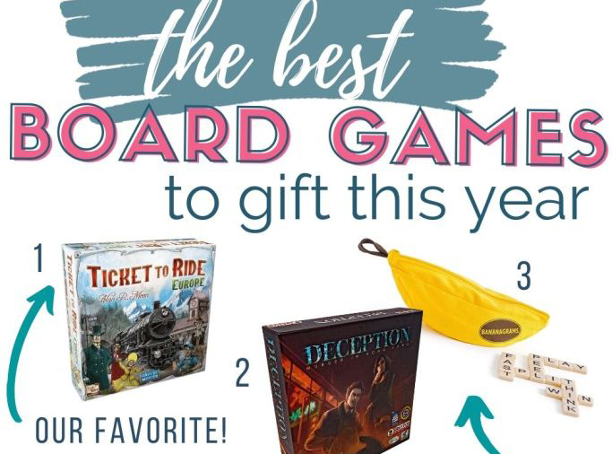 collage of board games