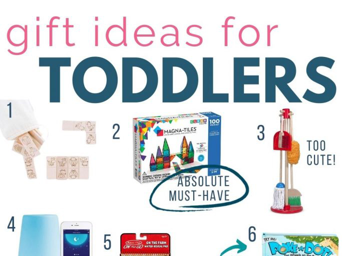 collage of gifts for toddlers