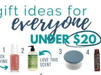 Gift Ideas Under $20 (For Everyone On Your List!)