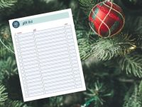 Tips for Stress-Free Christmas Shopping and a Free Printable Christmas Shopping Checklist