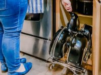Organizing Pots & Pans (and a must-have cabinet organizer)