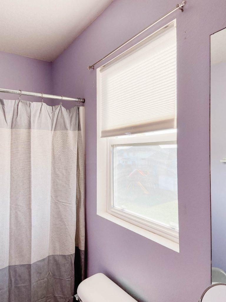 image of window in bathroom